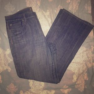Kut from the cloth dark wash flares 14 missing but